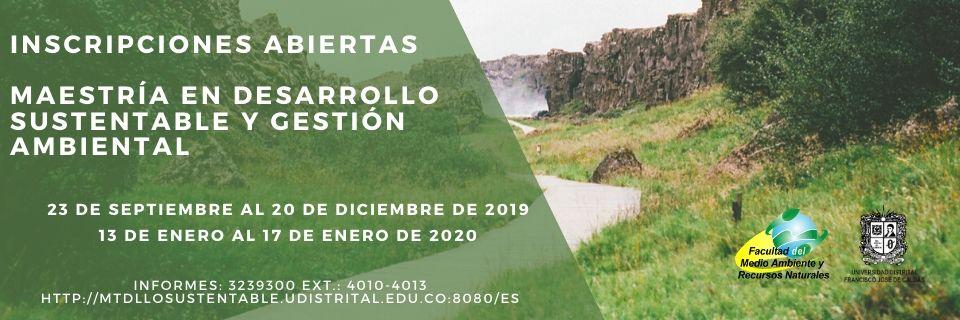 Inscripciones 2020-I